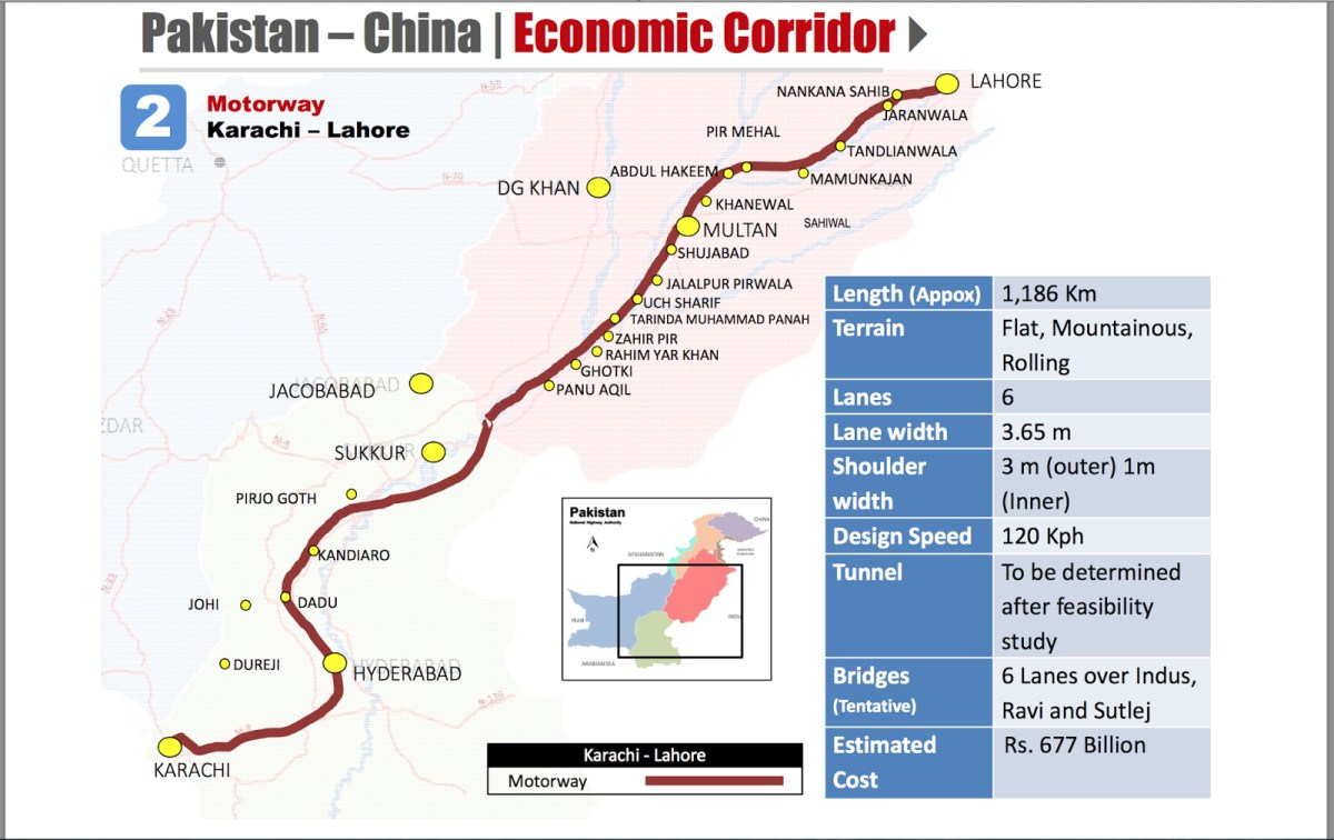 Lahore Karachi Motorway PakRealEstateTimesCom - Pir mahal map